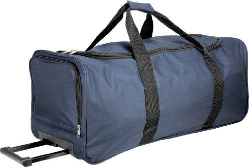 Praktische Sporttasche mit Trolley Funktion Navy