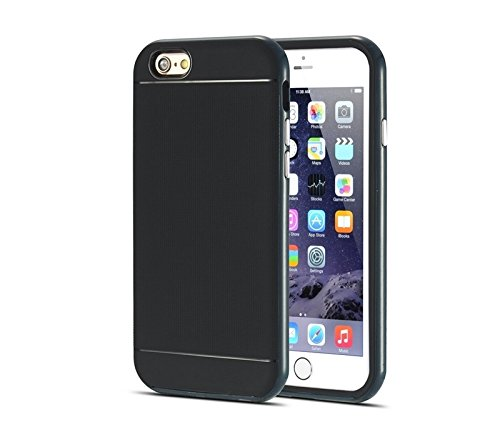 Pour iPhone 6 / 6S, Bumblebee Slim Hybrid PC Frame & TPU Housse de protection YAN ( Color : White ) Dark Blue
