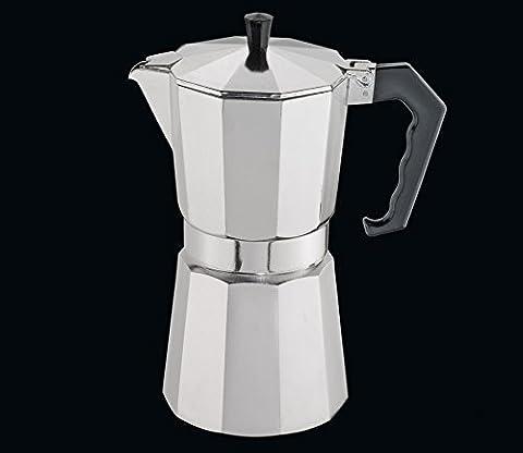 Cilio Premium Classico Aluminium Induction Stove Top Espresso Coffee Maker Pot 6Cup by Cilio