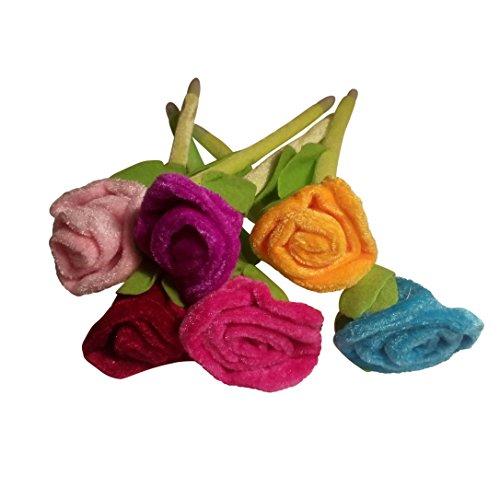 Peluche rosas Bolígrafo Ramo de flores (12unidades)