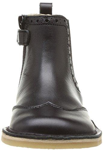 Start Rite Bugsy, Jungen Stiefel Schwarz - Noir (Black Leather)