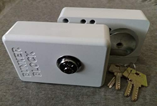 1 Unidad Cierre de Seguridad Candado Cerradura Puertas Furgonetas (modelo automatico A20) Made in Spain