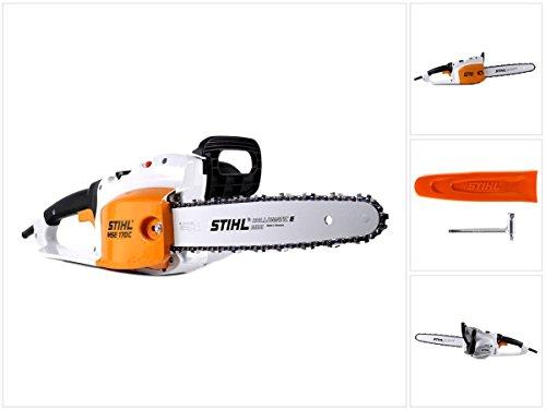 Stihl MSE 170 C-Q Elektro Kettensäge mit 35 cm Schnittlänge + 1,1 mm Kette (1209 011 4030)