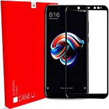 Redmi-Note-5-Pro Edge-to-Edge 5D Tempered Glass Screen Protector for Redmi Note 5 Pro (Pack of 1, Black)