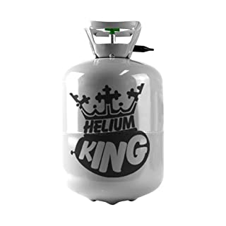 Helium King Small Gas Cylinder - Fills 30 Balloons