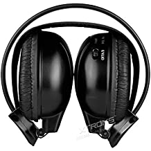 Por infrarrojos XTRONS Dual Channel auriculares estéreo inalámbrico por infrarrojos Auriculares inalámbrico y e-readers