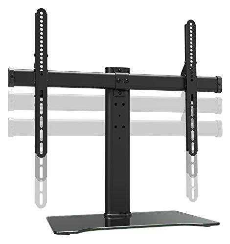 RICOO TV Halterung Ständer Stand FS305-B-XL Universal Fernseh Standfuß Fernseher Fernsehständer für Flachbildschirme mit Kabelmanagement | 30