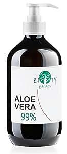 Aloe Vera Saft, gefiltert REINES ALOE VERA GEL 99% - 500 ML