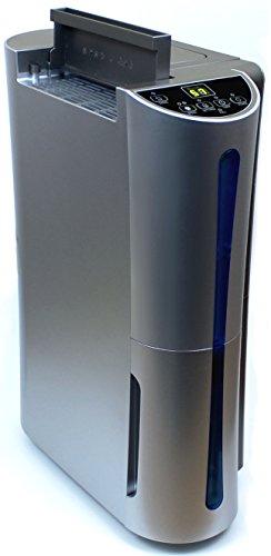 Komerci D012A Luftentfeuchter Raumentfeuchter Bautrockner leise, 22L/Tag, gegen Schimmel Feuchtigkeit in Keller Wohnung Schlafzimmer, silbergrau