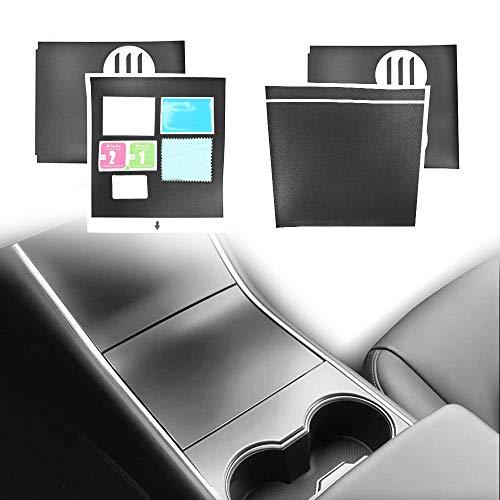 DEF T-Serie Tesla Model 3 Mittelkonsole Wrap Kit, Mattschwarz, einfache und schnelle Installation, für Erstinstallation -