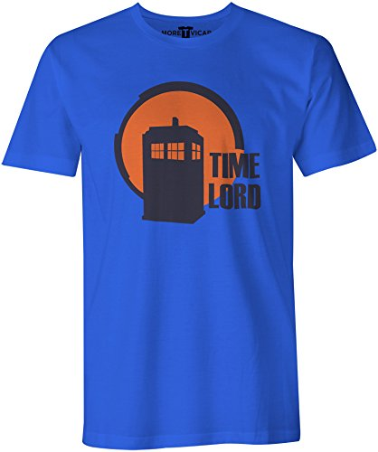 Time Lord - Mens Dr Who Tardis T Shirt