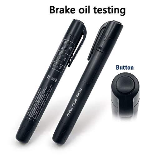 Footprintse Neue Bremsflüssigkeit Tester Stift Mini-anzeige Für Auto Reparaturen Werkzeuge Fahrzeug Auto Automotive Diagnosewerkzeug Bremse Tester