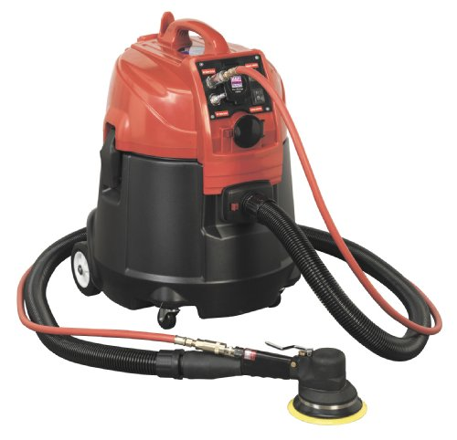Sealey Dfs55 a Combinaison sans poussière humide/sec Système d'aspiration d'air/électrique avec Mat150as, 28 litre