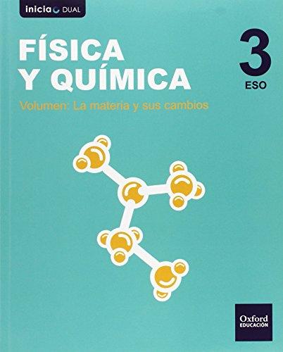 Física Y Química. Libro Del Alumno. ESO 3 (Inicia Dual) - 9788467386974 por Isabel Piñar Gallardo