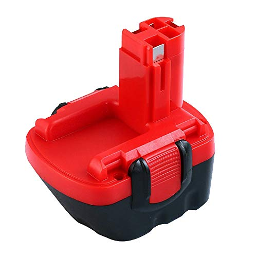 Hochstern 12V 3.0Ah Ni-MH Sostituzione Batteria per Bosch BAT043 BAT045 BAT120 BAT139 2607335542 2607335526 2607335274 2607335709 per Bosch 12VE-2 PSR 12 GSB 12VE-2 22612 23612 32612