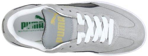 Puma Liga Suede Unisex-Erwachsene Sneakers Grau (limestone gray-black-white 71)