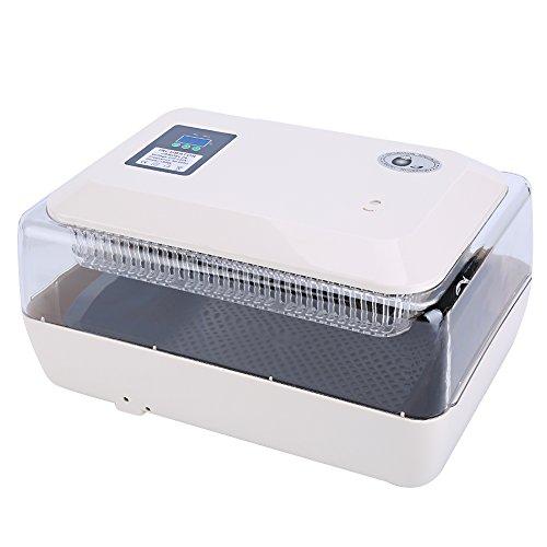 Incubatrice automatica schiusa macchina per 24 uova controllo automatico di temperatura per gallina, anatra, quaglia