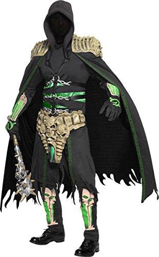 -Reaper-Kostüm, M, schwarz (Reaper Of Souls-größe)