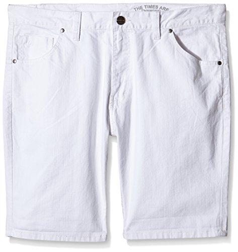 INSIDE 1CBE28, Pantalones Cortos para Hombre, Blanco (90), 44
