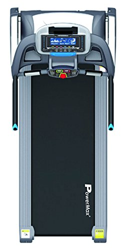 Powermax Fitness TDA-350 Motorized Treadmill with Auto Inclination