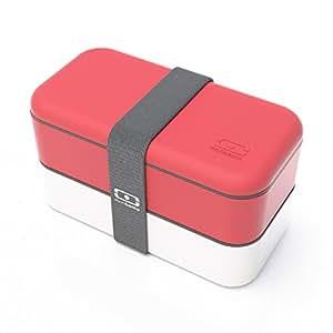 monbento Original rot / weiß - Die Bento-Box