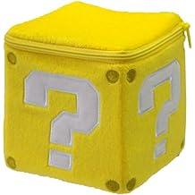 Nintendo Sanei Super Mario Bros - Cubo de peluche con interrogante, diseño de Super Mario Bros