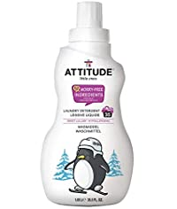 ATTITUDE Laundry Detergent, Sweet Lullaby, 35. 5 Fluid Ounce