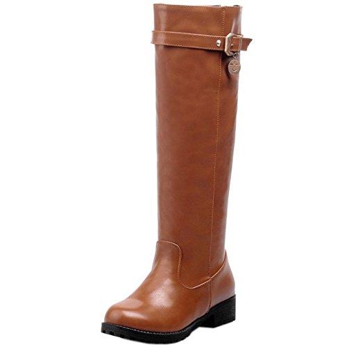 1435 Hautes Hiver Talon Chaussures Bass Femmes Brown Classique PT8wqa1