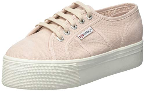Superga Damen 2790-cotwstonewash Gymnastikschuhe, Pink Skin W6y, 36 EU