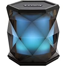 iHome ibt68inalámbrico Altavoz Bluetooth con función de manos libres, color negro