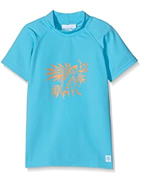 Splash About Camiseta con protección solar, Niño, color azul - Lion Fish, tamaño 7-8 años