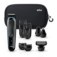 Braun 9-in-1 Multigroom Trimmer from Head to Toe - MGK 3980TS