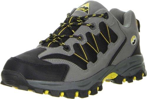 ConWay Damen Herren Outdoorschuhe Trekkingschuhe grau (Norman), Größe:37;Farbe:Grau