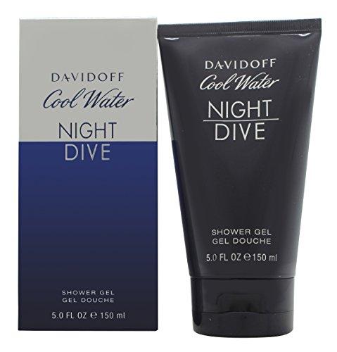 Davidoff Cool Water homme/men, Night Dive Shower Gel, 1er Pack (1 x 150 g)
