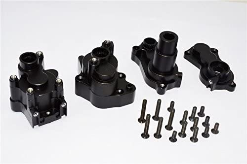 Aluminium Transmission Case Black - 1SET 1SET 1SET for 1/10 RC Car RR10 Bomber RC Alloy Upgrade Parts | à La Mode  84b042