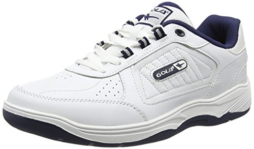 Gola Ama203, Scarpe Sportive Indoor Uomo, Bianco (White/Navy We), 43 EU
