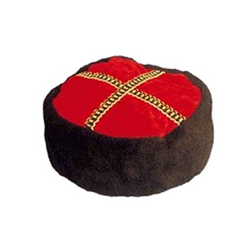 Kostüm Kosaken Hut - NET TOYS Kosakenmütze Kubanka Zarenmütze Papacha Russenmütze Russenkappe Kosakenhut kaukasische Kopfbedeckung Kosaken Kostümzubehör