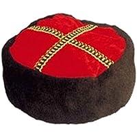 Gorra de zar Gorro kubanka Cachucha típico ruso Accesorio disfraz cosaco Sombrero ruso Sombrero cosaco caucásico
