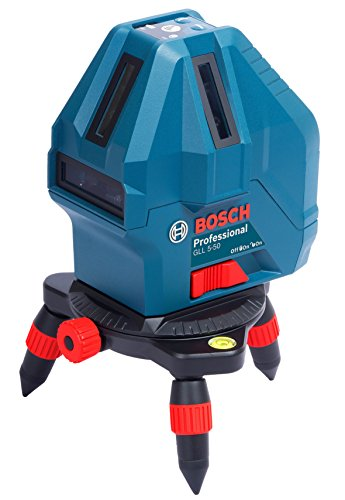 Bosch GLL 5-50 Professional 5-Line Laser Level Measure Beam  available at amazon for Rs.12490