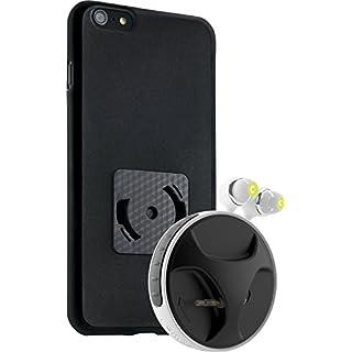 athos-c SmartWind-Bumper Duo für iPhone 6/6S Plus - Hochwertiger, abnehmbarer Kabelaufroller für Kopfhörer mit separater Schutzhülle