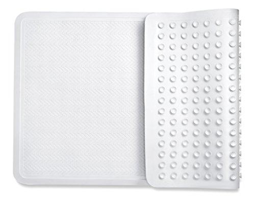 Saganizer Bad-Teppiche Hoher Qualität Rutschfeste Dusche Matten, mit Leistungsstark Greifen Technologie Passt jeder Größe Badewanne BPA Frei Non-slip-gummi