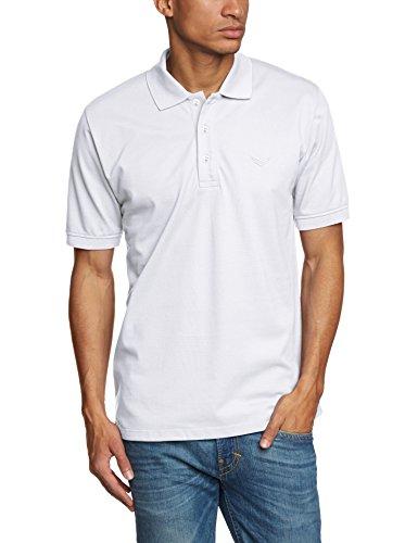 Trigema Herren Poloshirt 621601_001 Piqué-Qualität, Gr. XL, weiß (Herren-pique-sport-shirt)