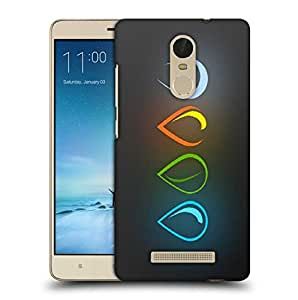 Snoogg The Four Elements Minimalistic Printed Protective Phone Back Case Cover For Xiaomi Redmi Note 3
