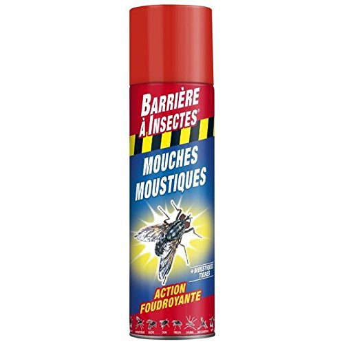 BARRIERE A INSECTES BARVOL400 Insectes Volants 400 ml, Rouge, 6 x 6 x 25 cm