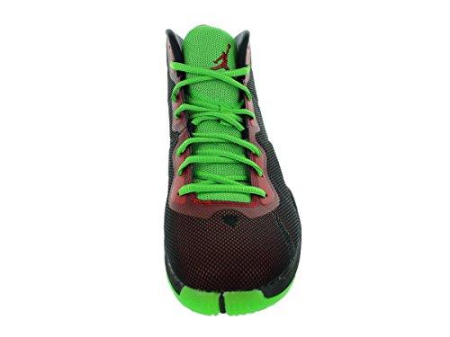 Nike Jordan Super.Fly 4, Scarpe sportive, Uomo black/gym rd-grn pls-infrrd 23