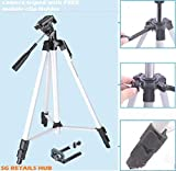 Ceuta Retails 60 inches Tripod Lightwight Portable Foldable Camera Tripod with Mobile Holder