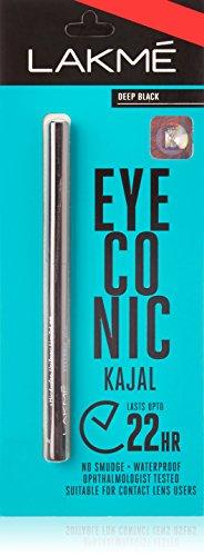 Lakme Eyeconic Kajal, Black, 0.35 g