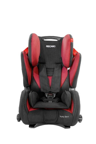 Recaro Young Sport Group 1/2/3 Combination Car Seat (Cherry)