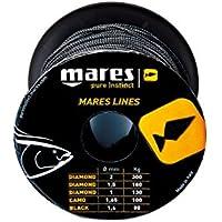 Schwarze Schnurlinie 1,6mm 50M