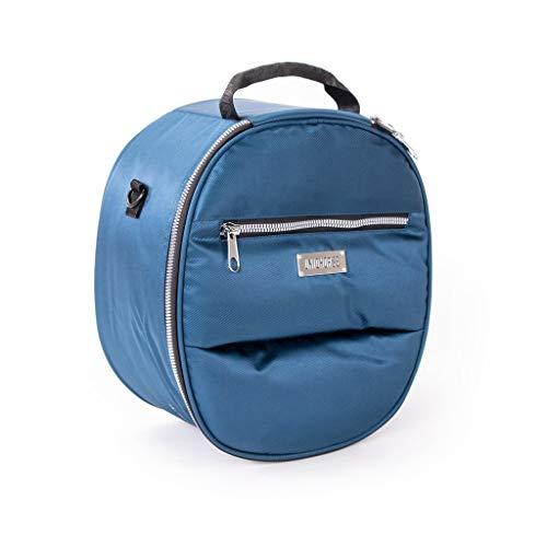 UNIQHORSE Helm & Zylinder Tasche Blau - Tasche für Helme und Zylinder - Für Reiter entwickelt
